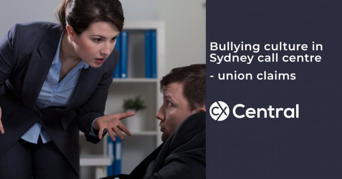 Bullying culture in the call centre