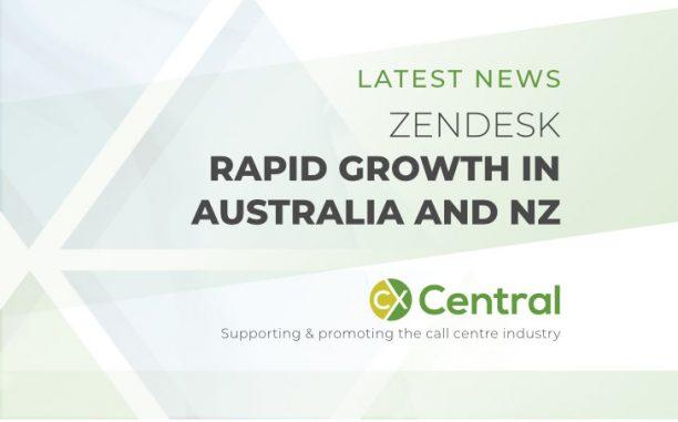 Zendesk is growing rapidly in Australia & NZ