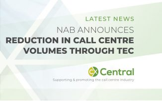 NAB reduces call centre volumes