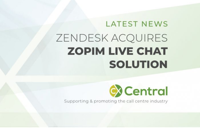 Zendesk acquires Live Chat startup Zopim