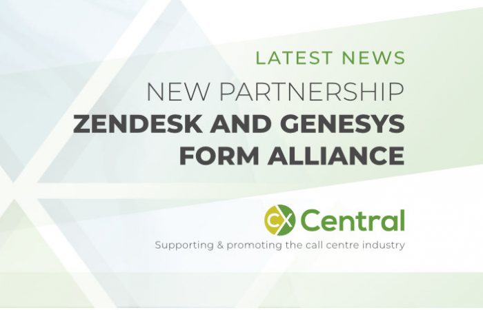 Genesys and Zendesk form an alliance