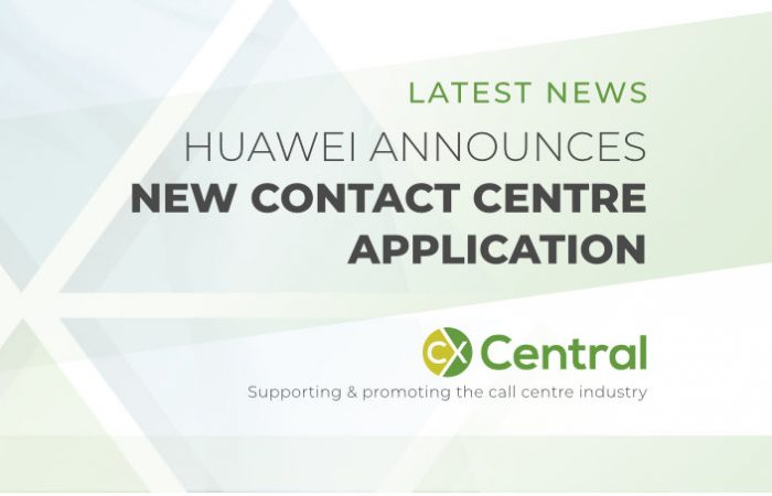 Huawei announces new contact centre application