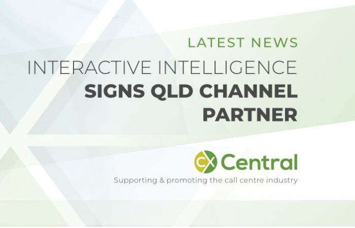 Interactive Intelligence signs QLD channel partner