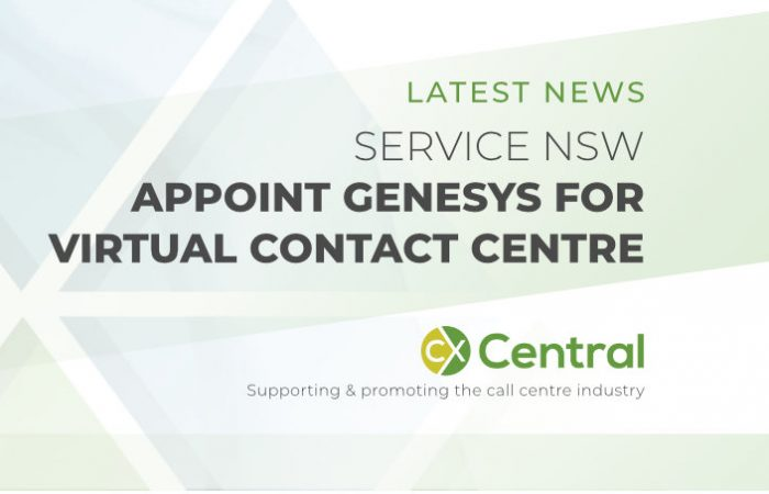 Service NSW has appointed Genesys for Virtual Contact Centre