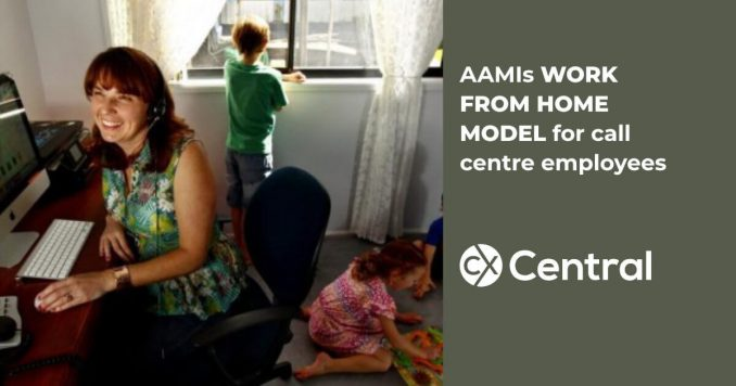 AAMIs work from home call centre