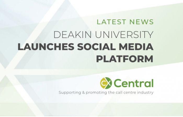 Deakin University launches Social Media Command Centre