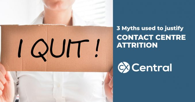 3 common myths used to justify contact centre employee attrition