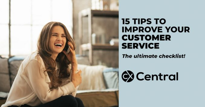 15 tips for improving customer service