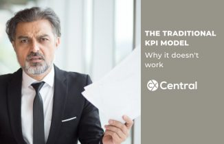 THE TRADITIONAL KPI MODEL Why it doesn't work
