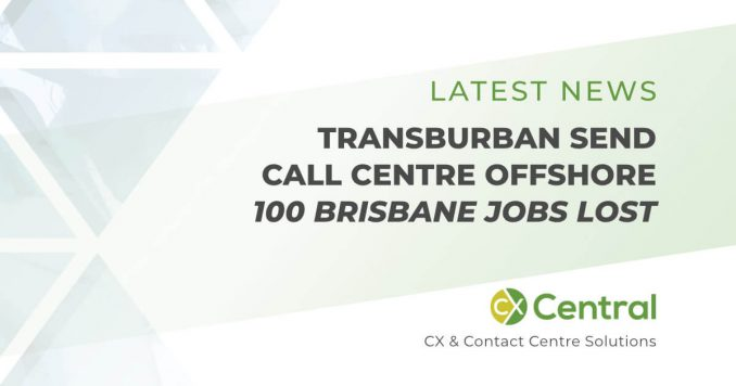 Transurban to offshore call centre staff