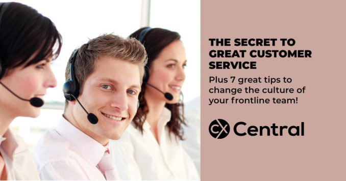 secrets to great customer service