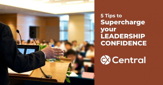 5 Tips to supercharge your leadership confidence