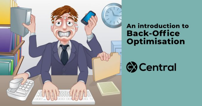 An introduction to back-office optimisation