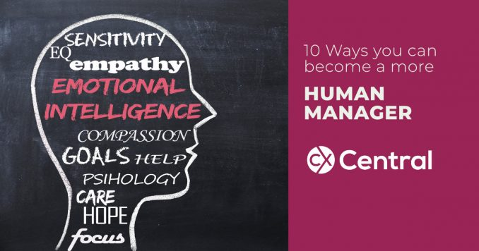 Ways to become a more human manager