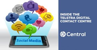 A sneak peak inside Telstra's digital contact centre