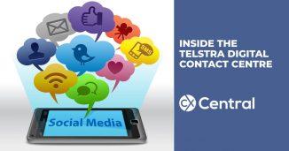 A sneak peak inside Telstra's digital contact centre