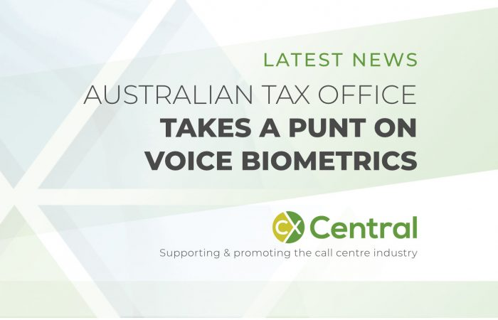 AUSTRALIAN TAX OFFICE TAKES A PUNT ON VOICE BIOMETRICS