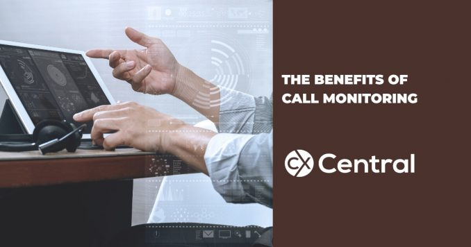 The benefits of call monitoring in a call centre