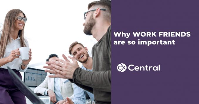 Why work friends are so important in the call centre