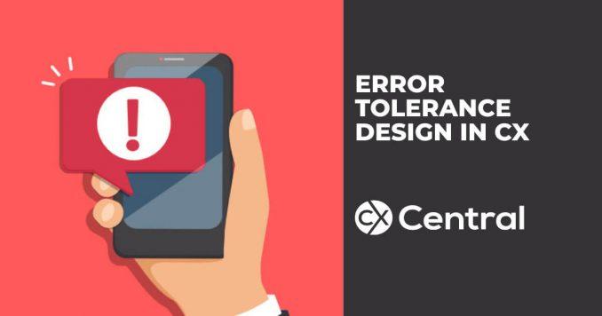 Error Tolerance design in CX