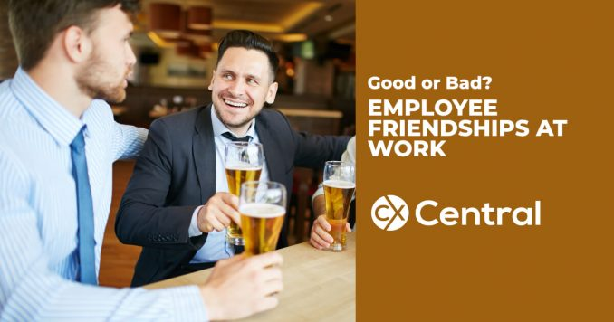 Is there a link between employee friendships at work and staff engagement?