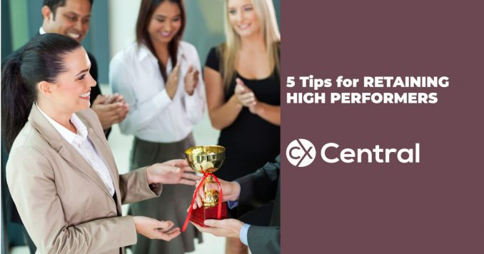 5 tips for retaining high performers