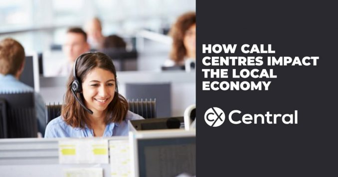 How call centres impact the local economy