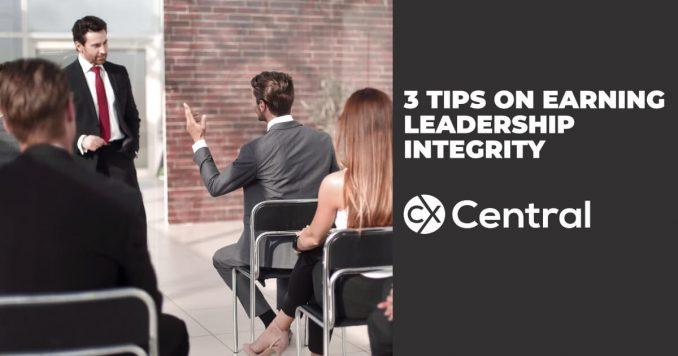 3 Tips on earning Leadership integrity