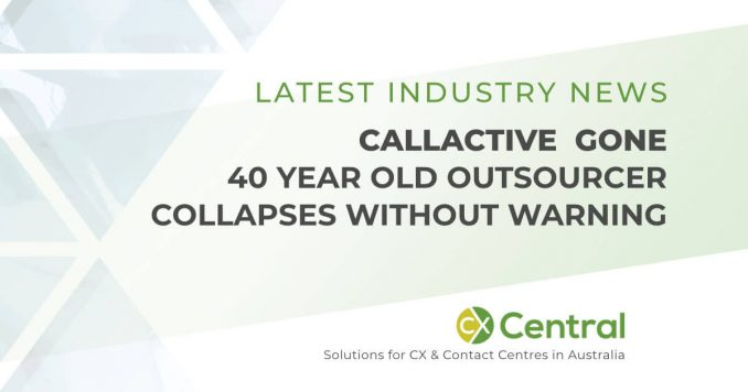 CallActive gone - 40 year old call centre outsourcing closes suddenly