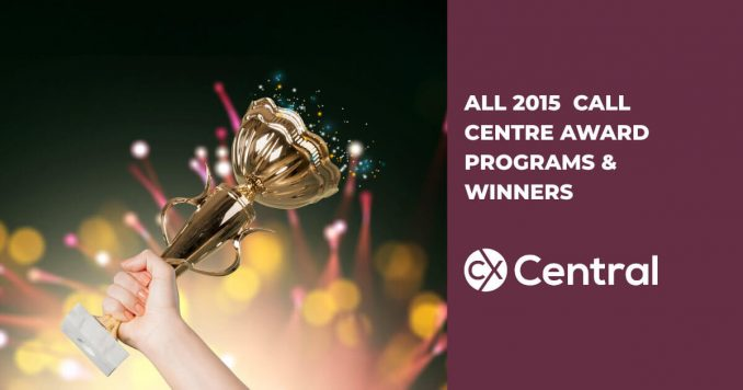 2015 Call Centre Industry Awards Programs & Winners