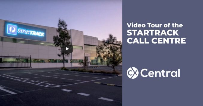 Startrack call centre video tour