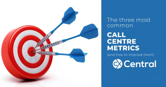 Top three most common call centre metrics