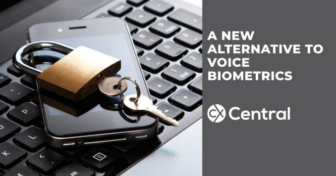 A new alternative to voice biometrics