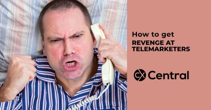 How to get revenge at telemarketers