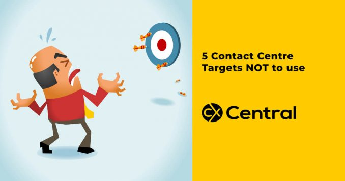 5 Contact centre targets not to use