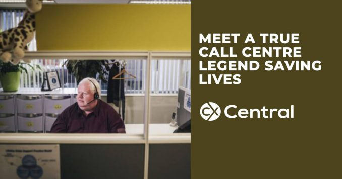 Meet Neale, a true call centre legend saving lives