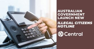 Australian Government launch new ILLEGAL CITIZENS HOTLINE 2019