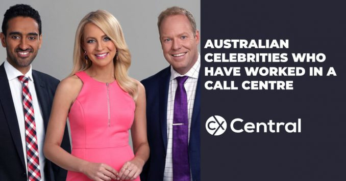 Australian celebrities who have worked in a call centre