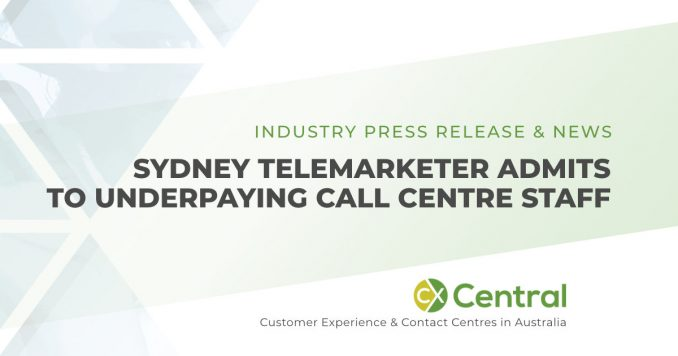 Sydney telemarketing company Mondial admit to underpaying call centre staff
