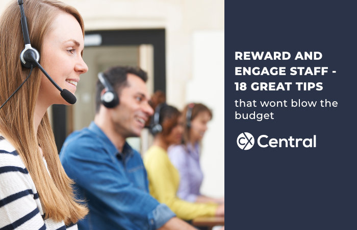 REWARD AND ENGAGE STAFF - 18 GREAT TIPS that wont cost much to implement