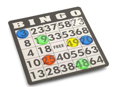 Play bingo in the call centre