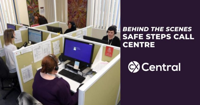 Behind the scenes at the Safe Steps call centre