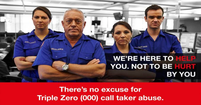 New campaign launched in NSW to stop Triple Zero call taker abuse