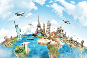 you can travel the world working in a call centre