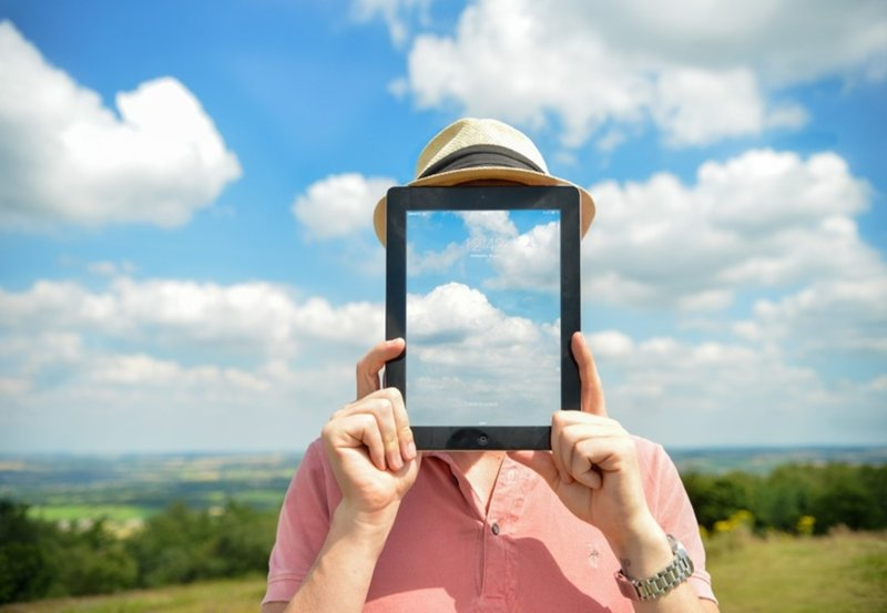iPad sky
