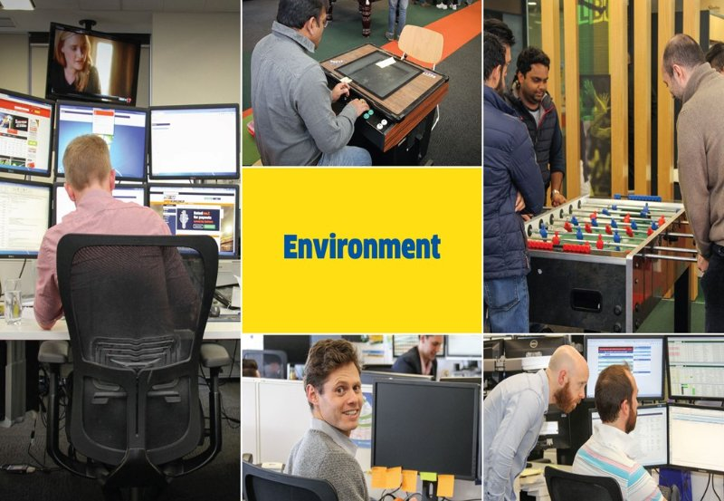 Having the right environment for our staff assists with the overall Sportsbet customer experience strategy