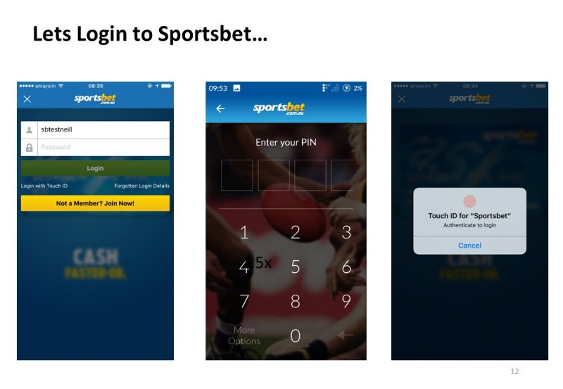 How different log in processes have enhanced the Sportsbet customer experience