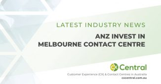 ANZ Melbourne call centre receives a welcome investment