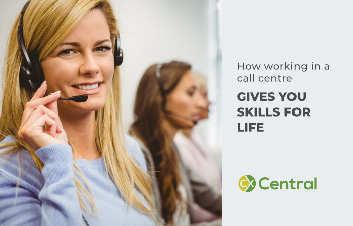 How call centre work gives you skills for life