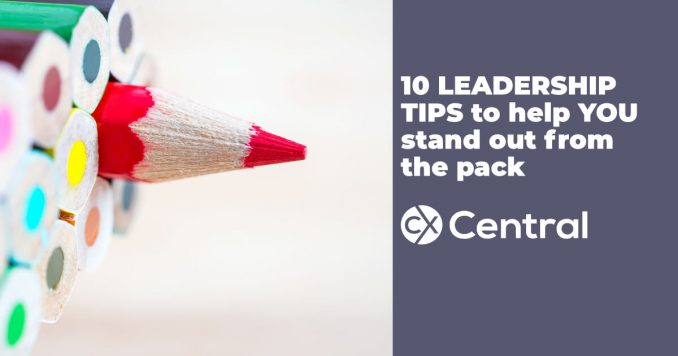 Leadership tips to help you stand out from the pack